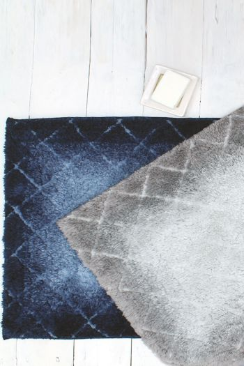 Diamond Ombre Anti Slip Bathmat