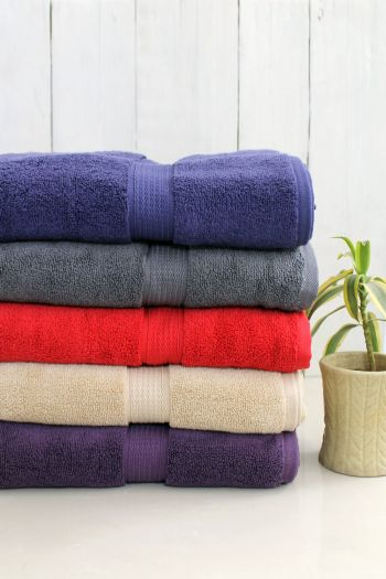 Luxurious Zero Twist Cotton Towel