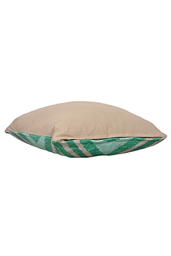 Linear Cushion Covers, Set of 2, Green