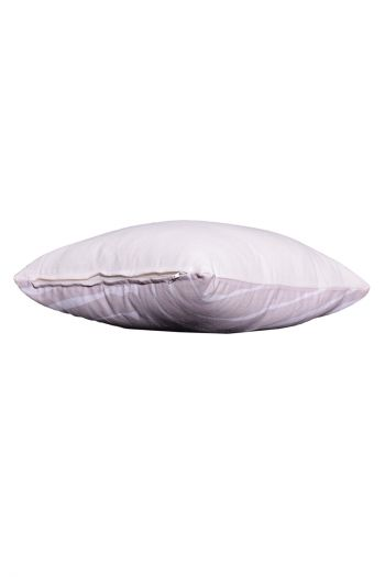 Abstract Indoor/Outdoor Cushion Covers, Set of 2, Beige & White