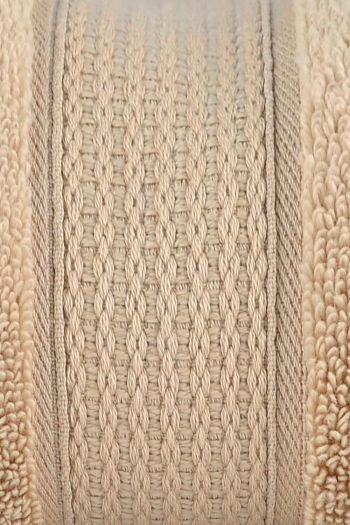 Luxurious Zero Twist Cotton Hand Towels, Beige