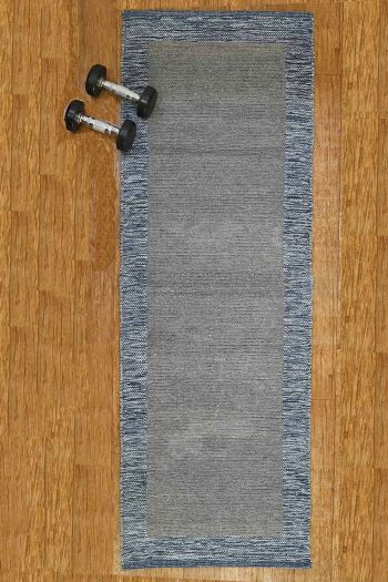 Yoga Mat with Anti Slip Backing, Grey