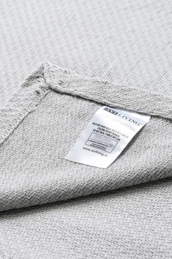 Surrey Cotton Blanket, Grey