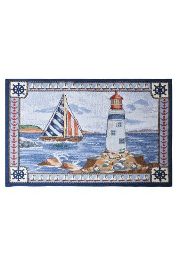 Lighthouse Table Mats, Multicolor