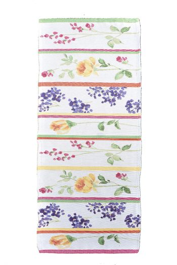Floral Lines Table Runner