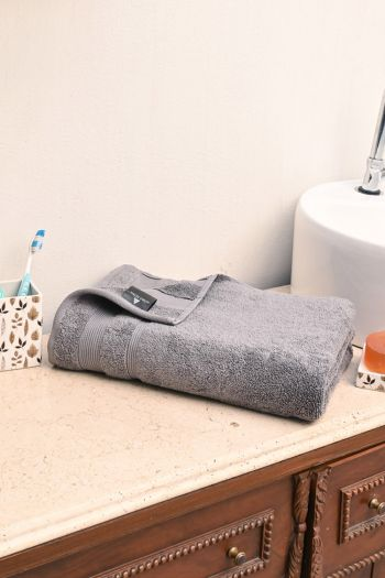 Luxe Zero Twist Cotton Towel, 550 GSM