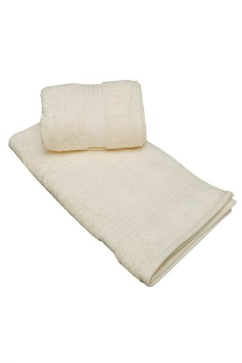 Plush Egyptian Cotton Large Hand Towels, Set of 2