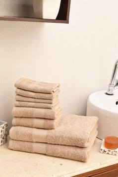 Ultimate Essential Cotton Towels Set, GSM - 500